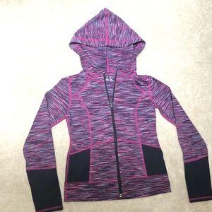 Zella Girl zip front jacket NWOT sz 8/10